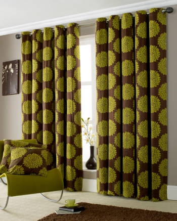 green-mocha-curtain-fabric
